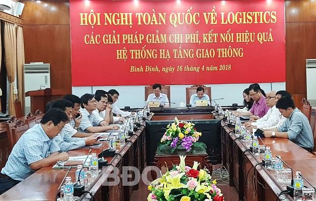 Cảng Quy Nhơn là cửa ngõ của chuỗi cung ứng DV logistics